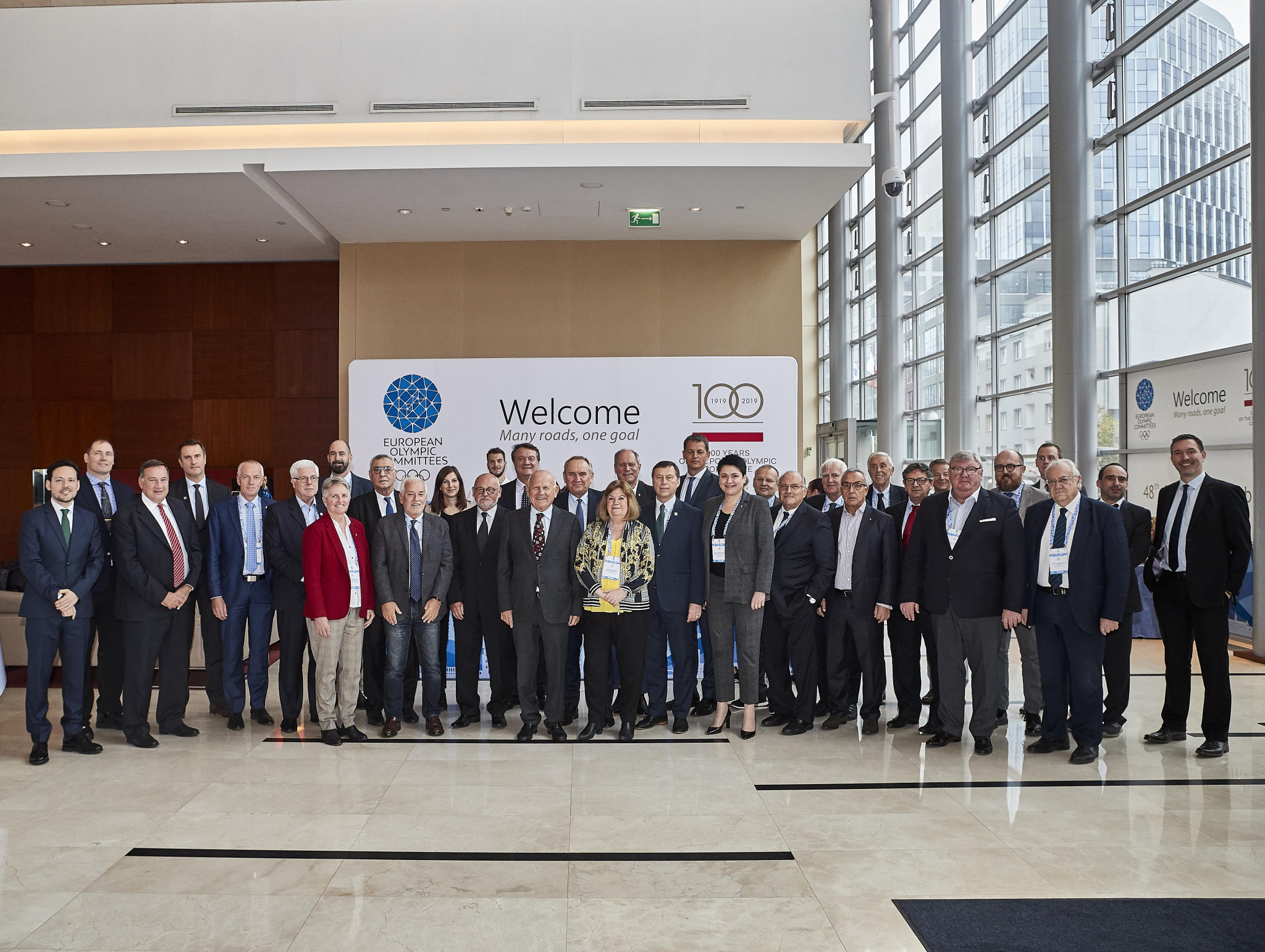 The European Olympic Committees Executive Committee met here in Warsaw ©EOC