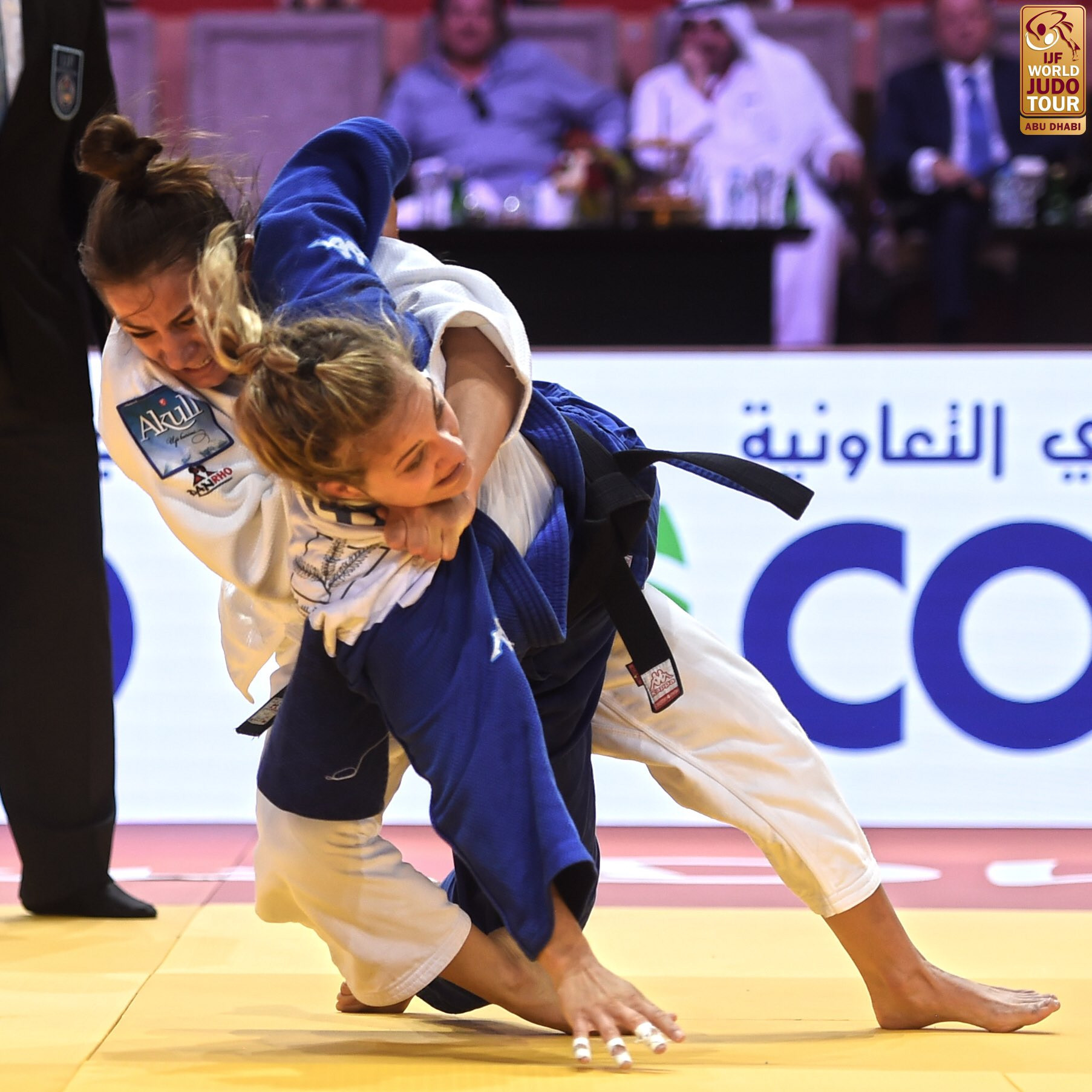 Kelmendi gets better of Giuffrida to secure IJF Grand Slam gold
