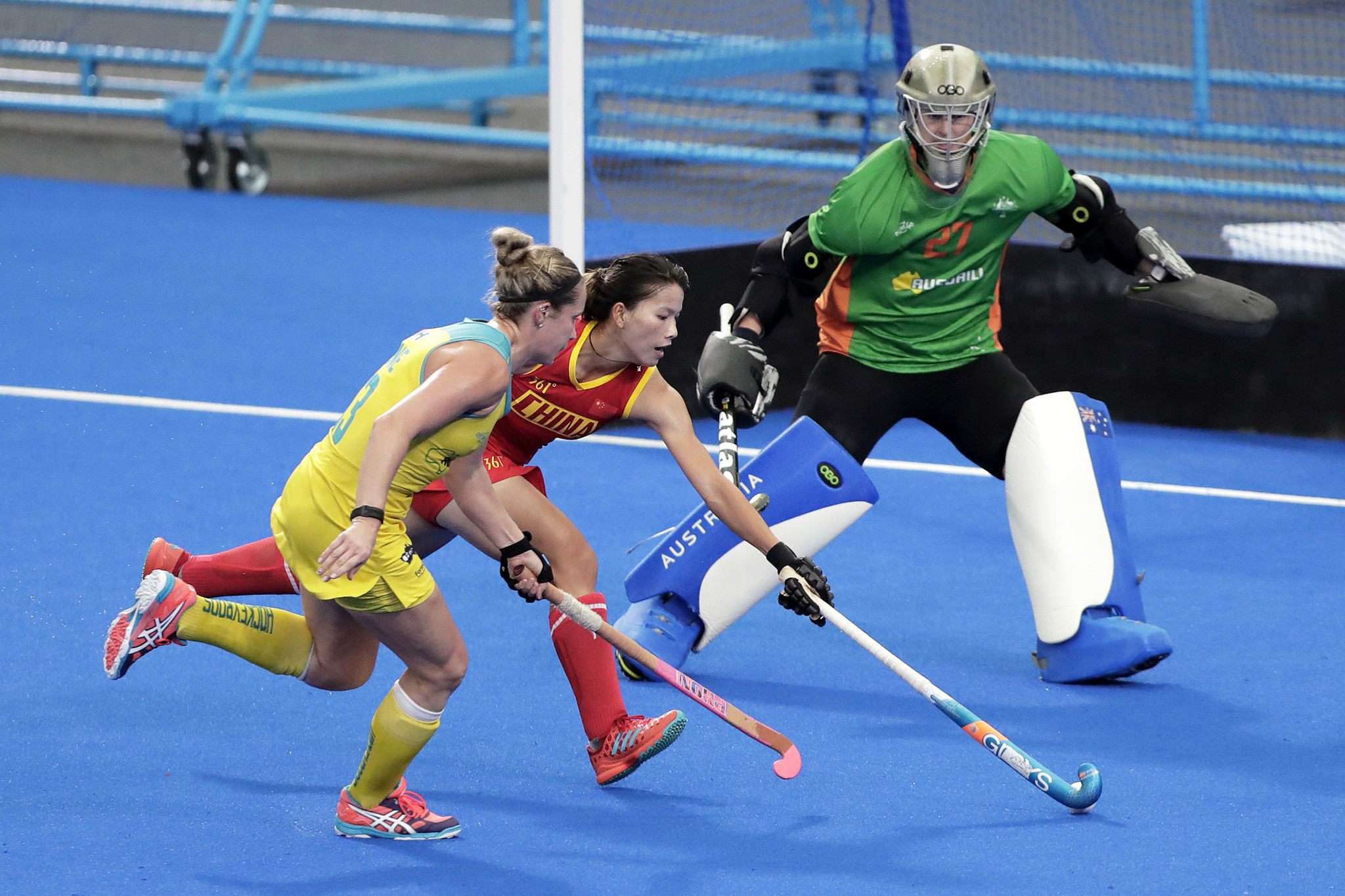 Australia start as strong favourites in their women's tie with Russia ©Getty Images