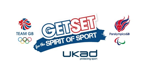 "UKAD have launched a values based education programme titled ""Get Set for the Spirit of Sport"" ©UKAD"