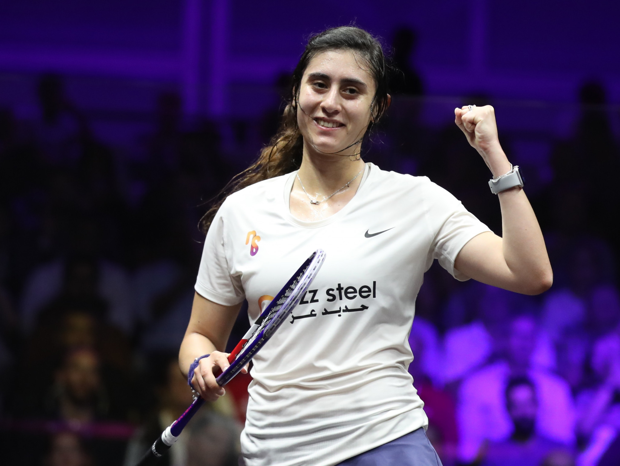 El Sherbini begins PSA Women's World Championship title defence with routine victory