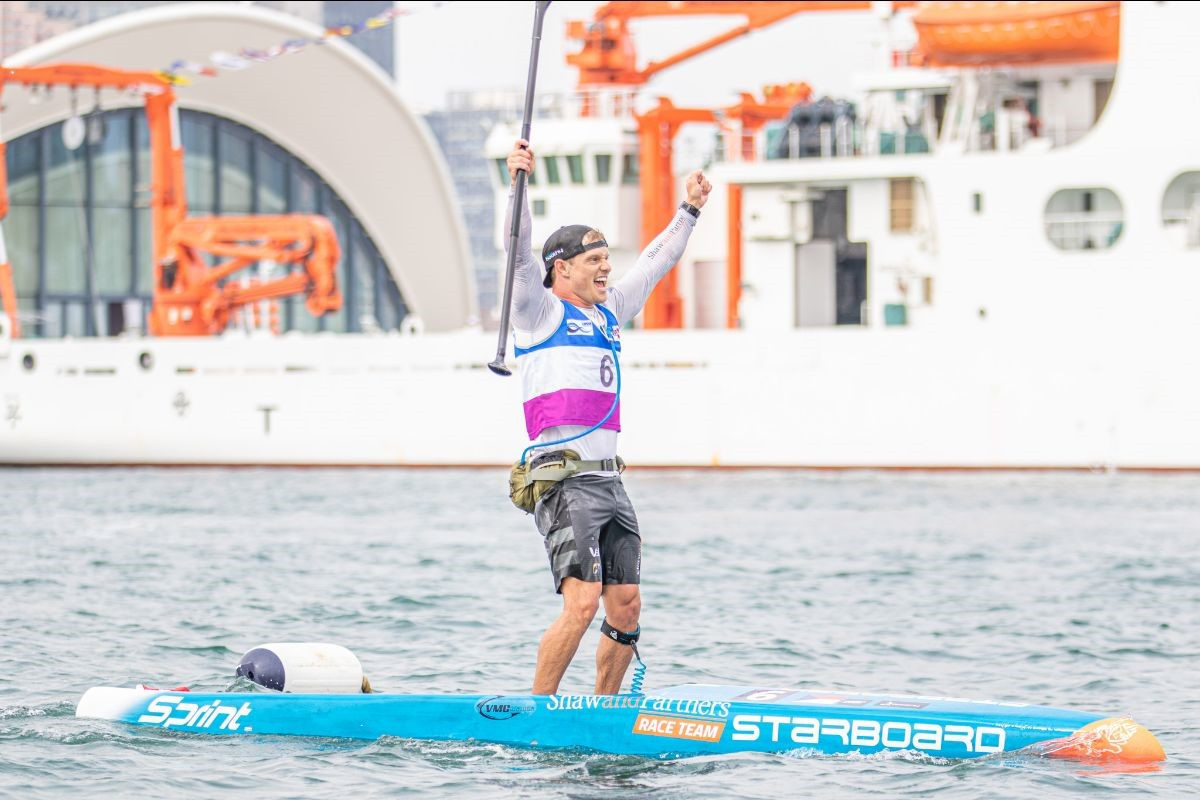 Booth and Honscheid claim first ICF SUP World Championships titles
