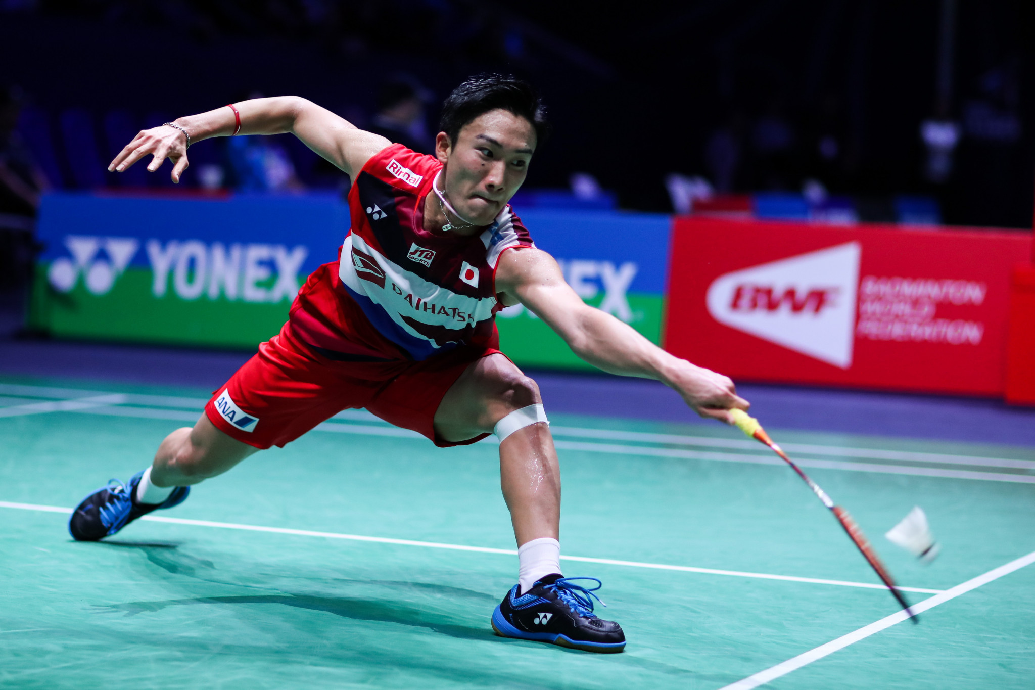 Momota suffers quarter-final defeat at BWF French Open