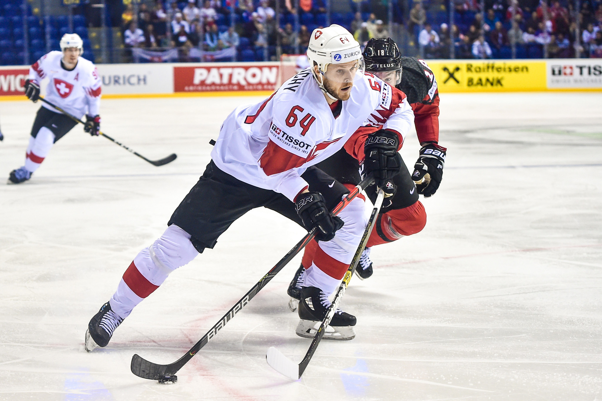 Switzerland reached the quarter-finals of this year's IIHF World Championship ©Getty Images