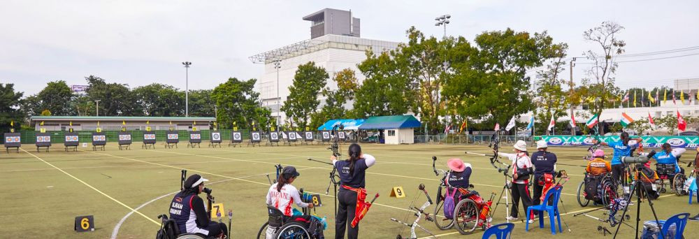 China dominated on the final day of the Asian Para Archery Championships in Bangkok ©World Archery