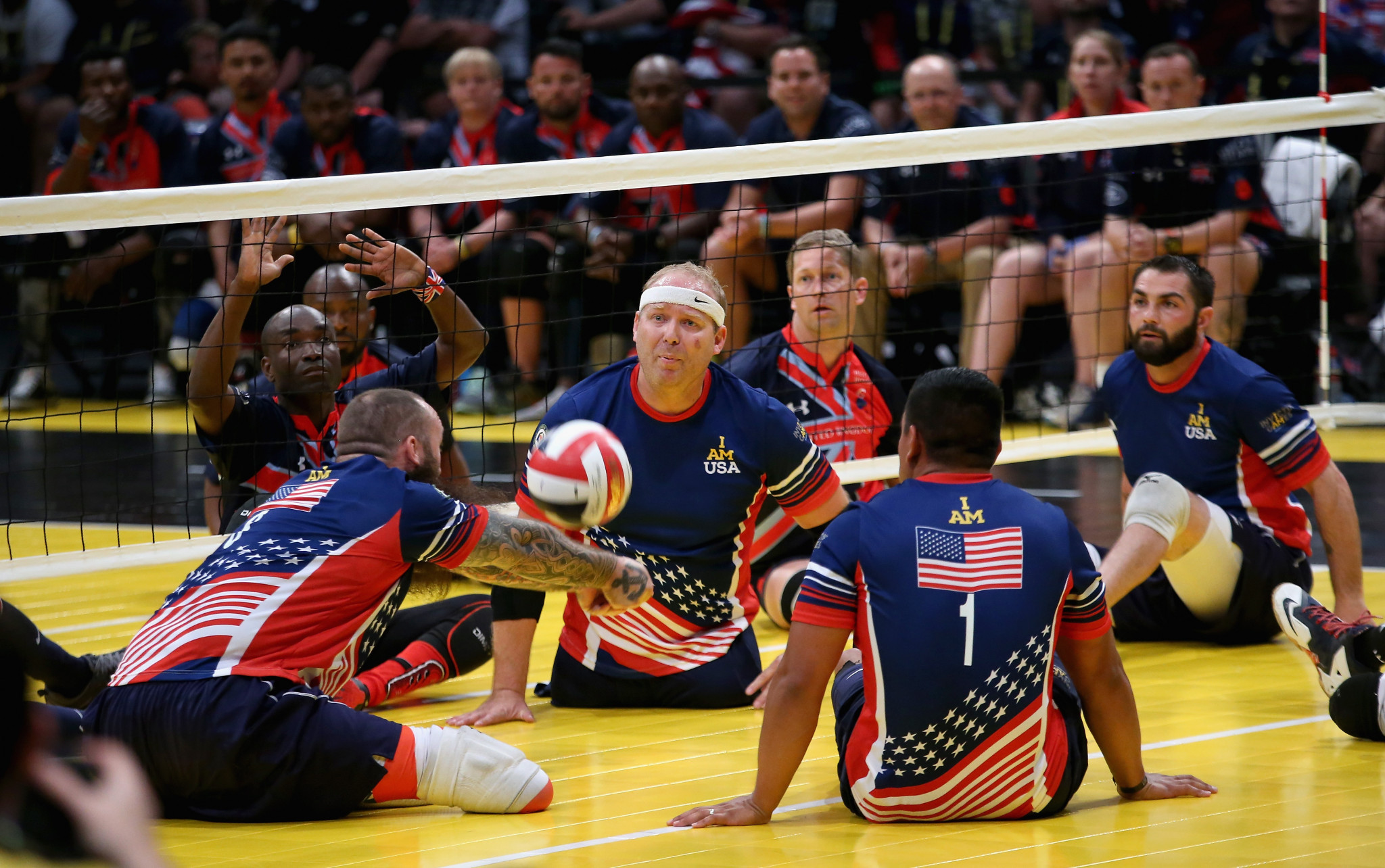 The Invictus Games in The Hague will take place in May and June next year ©Getty Images