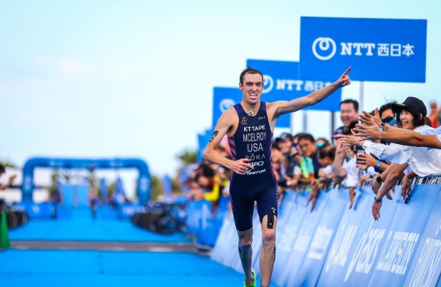 McElroy clinches second consecutive ITU World Cup victory
