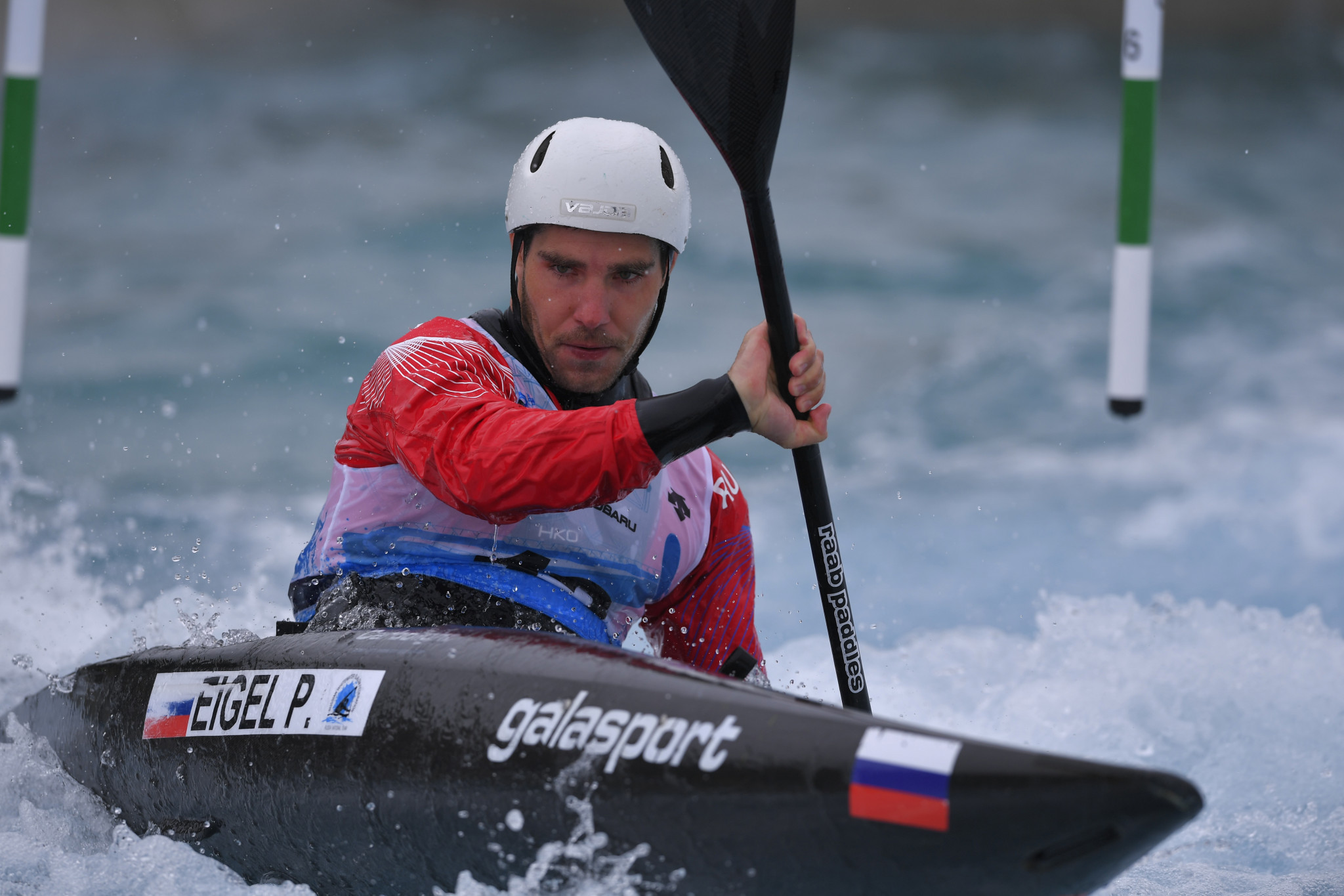 Eigel qualifies fastest in men's K1 at Tokyo 2020 canoe slalom test event