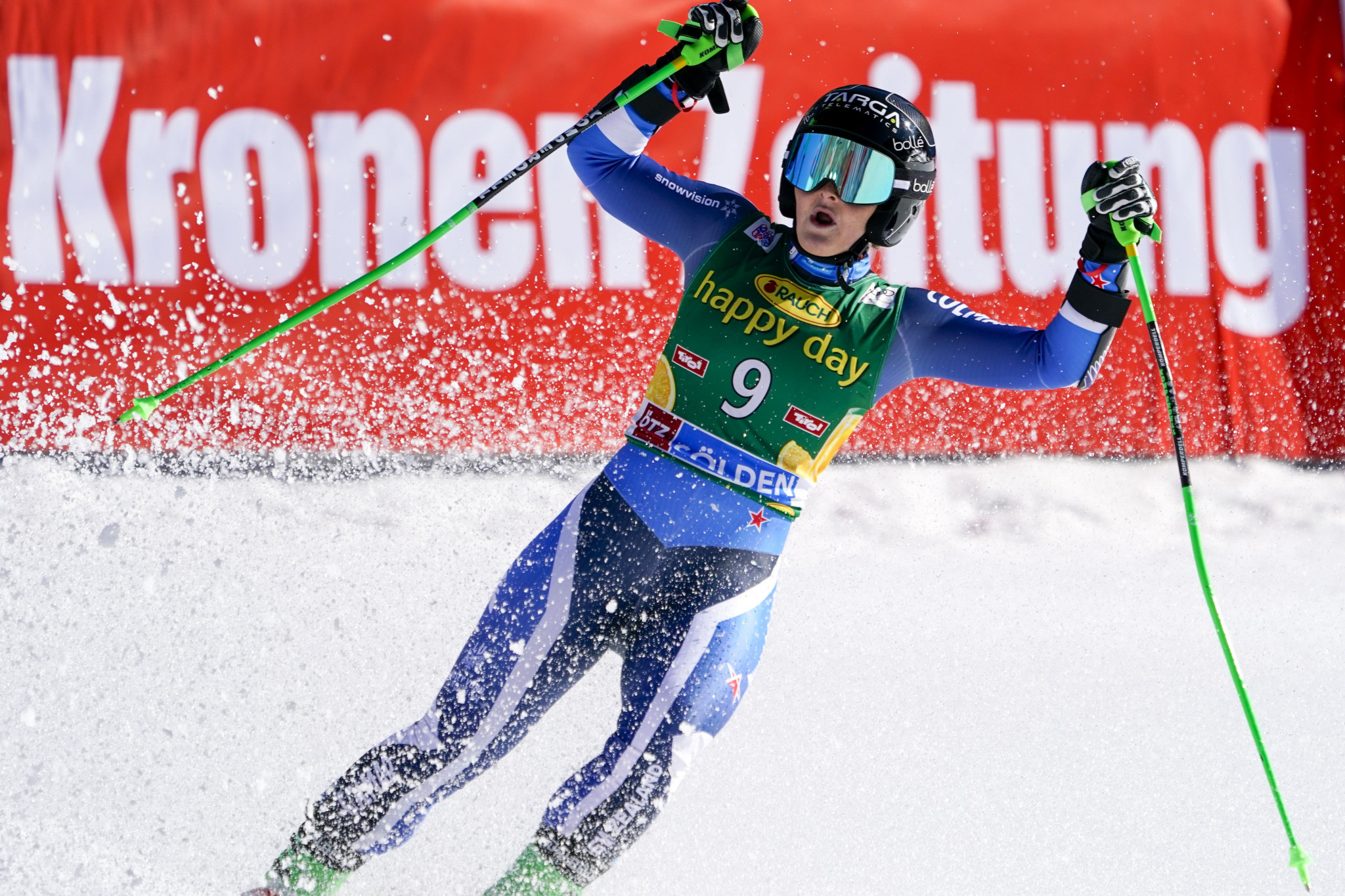 Robinson stuns Shiffrin to secure first FIS Alpine Skiing World Cup win