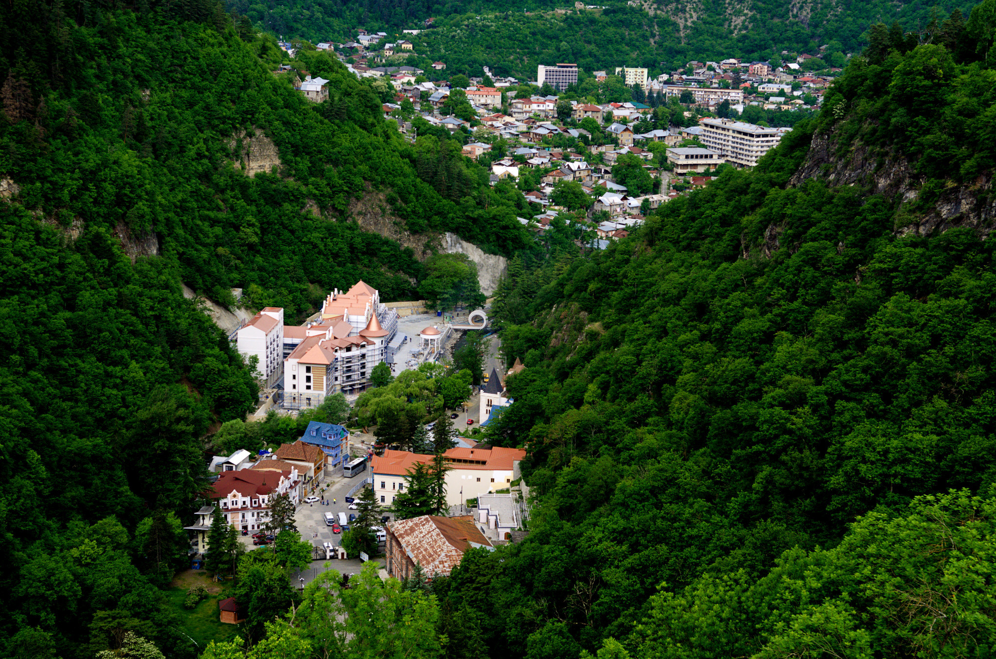 Borjomi is one of the Georgian resorts set to host the 2025 Winter European Youth Olympic Festivals ©Wikipedia