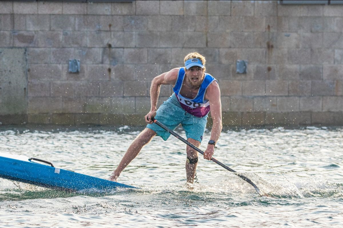 Baxter wins sprint title in record time at ICF SUP World Championships