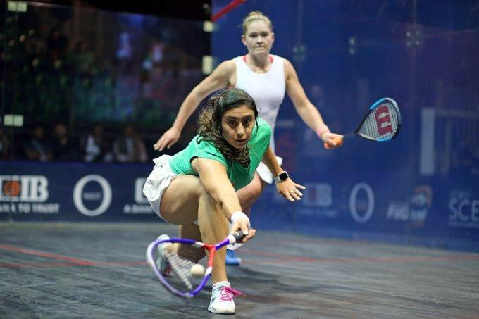 El Sherbini cruises into third round at PSA Women's World Championship