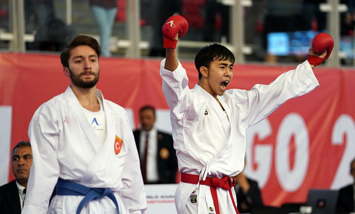 Three nations earn first golds at WKF Cadet, Junior and Under-21 Championships