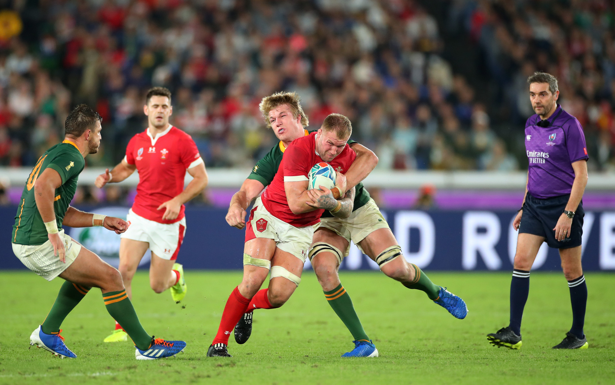 Wales went in search of a late winner but it proved elusive ©Getty Images