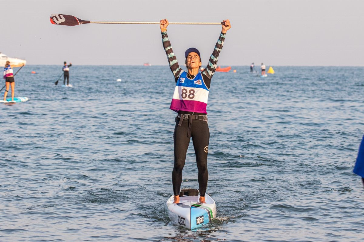 Piana seals second gold medal at ICF SUP World Championships