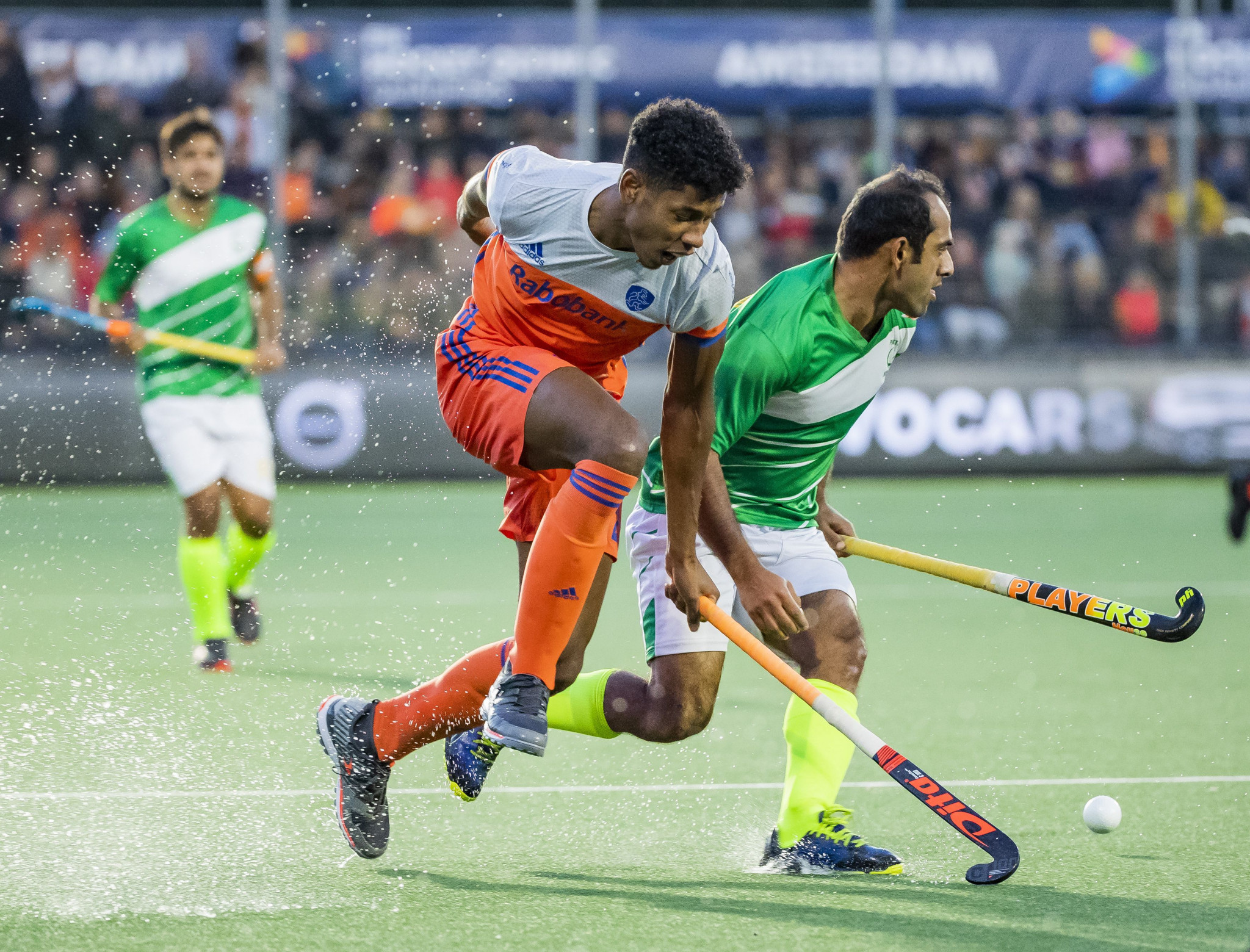 The Dutch side were far too strong for Pakistan in the second leg in Amsterdam ©Getty Images