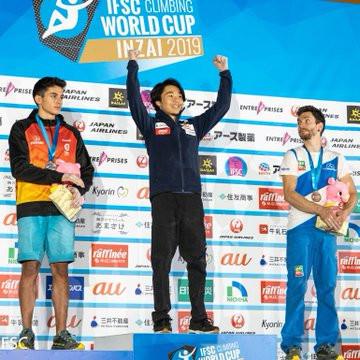 Kim and Shimizu triumph at final IFSC Lead World Cup