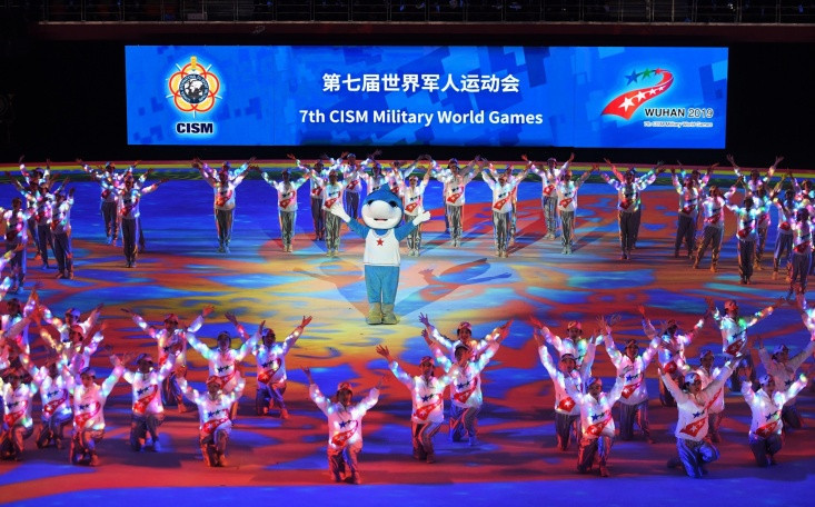 Hosts top medal table as World Military Games conclude in Wuhan