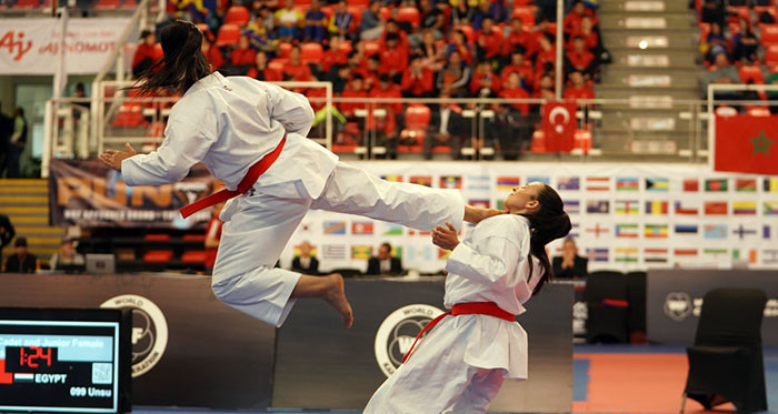 Egypt top medals table at WKF Cadet, Junior and Under-21 Championships