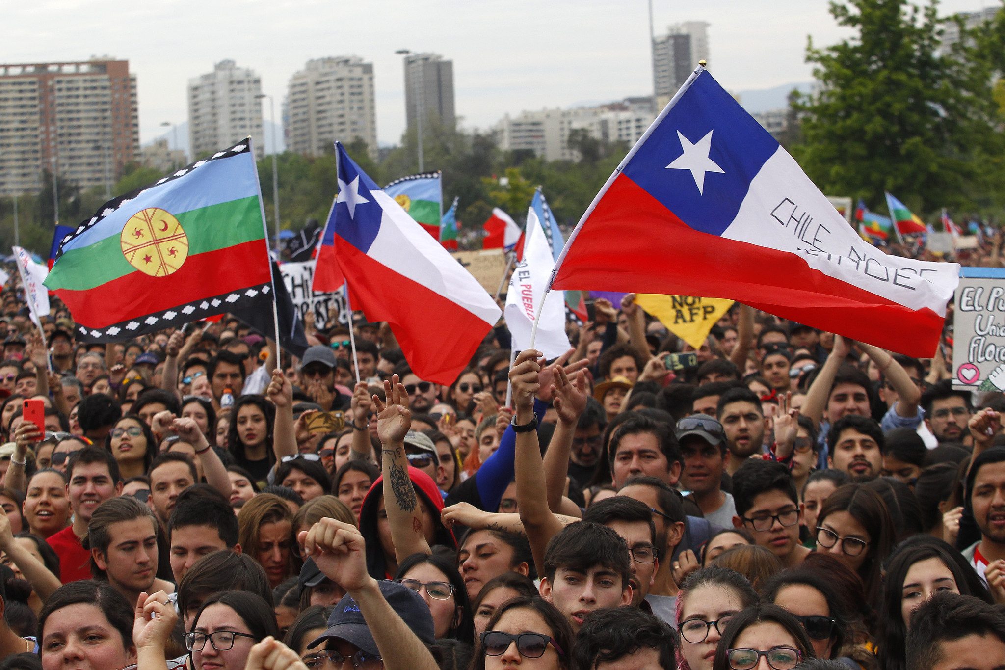 Chile's Olympic Committee calls for dialogue to solve crisis and put an end to mass protests