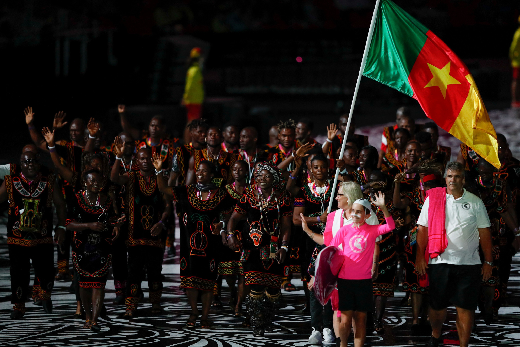 A third of the Cameroon team that competed at the 2018 Commonwealth Games in the Gold Coast disappeared after the event ©Getty Images