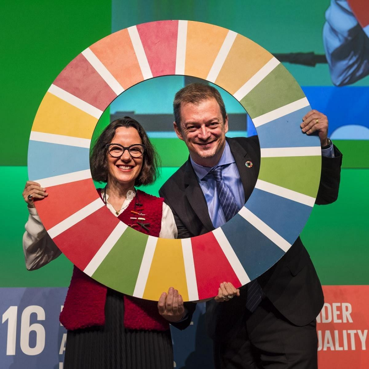 The agreement with the UN Sustainable Development Goals Action Campaign was signed during the IPC's General Assembly in Bonn ©IPC