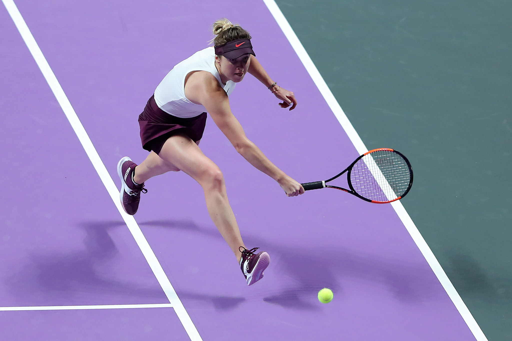Svitolina gets title defence off to winning start at WTA Finals