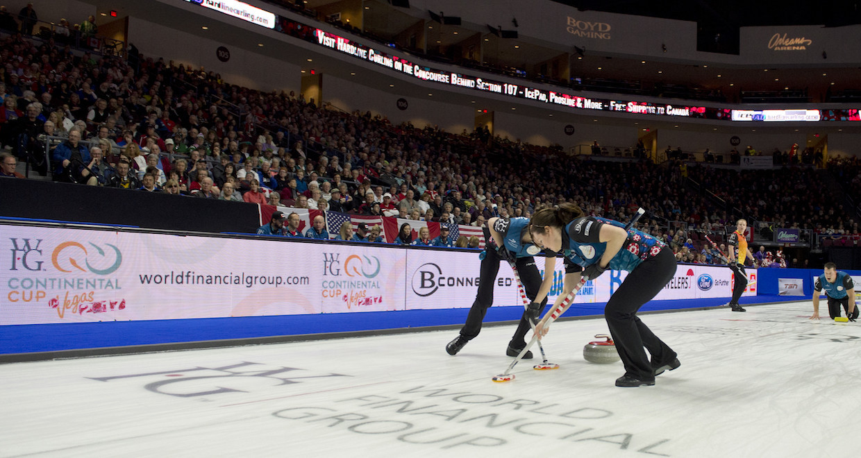 The Continental Cup is curling's equivalent of the Ryder Cup ©Curling Canada