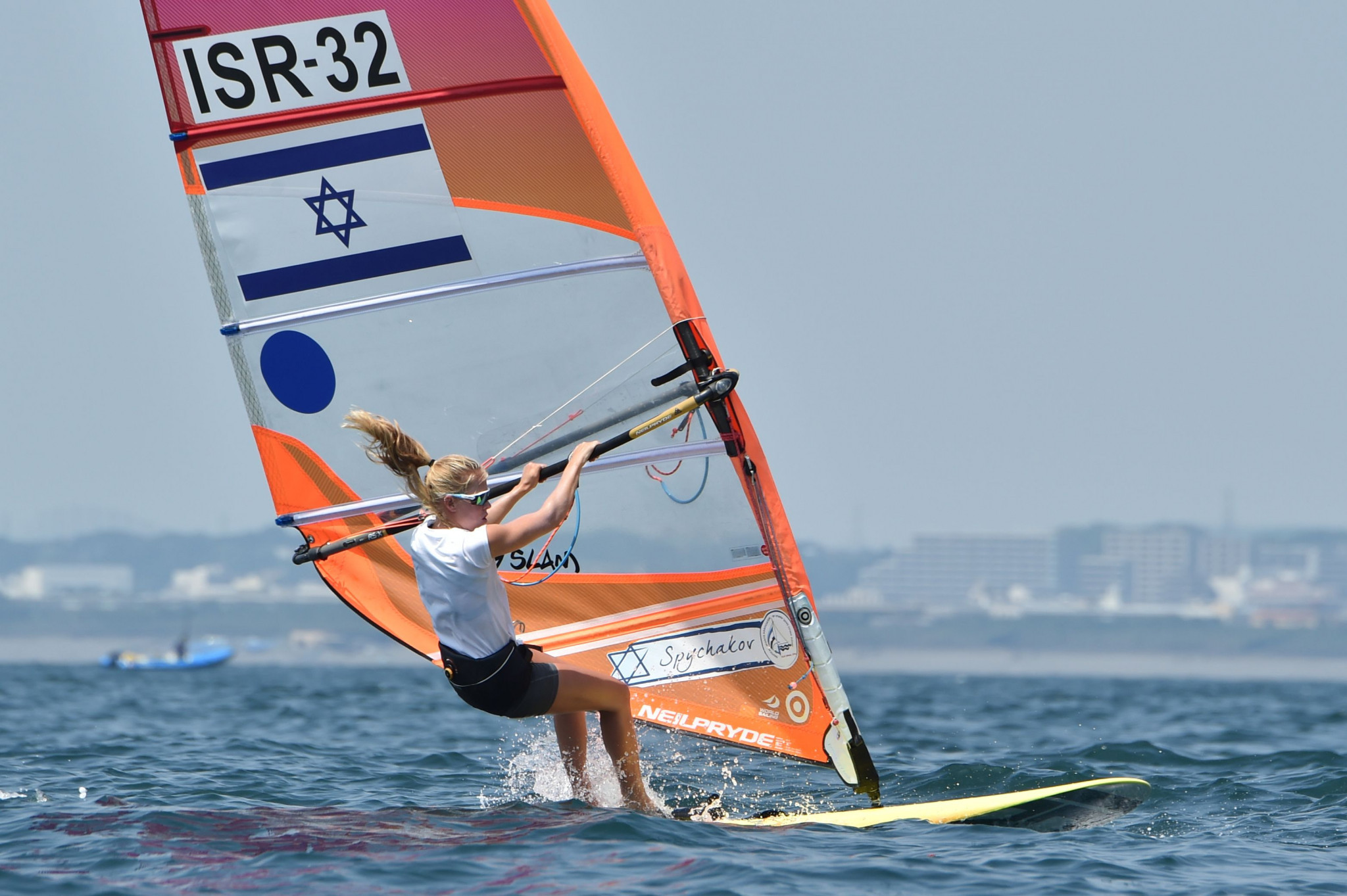 Katy Spychakov is considered to be among Israel's best hopes for an Olympic medal at Tokyo 2020