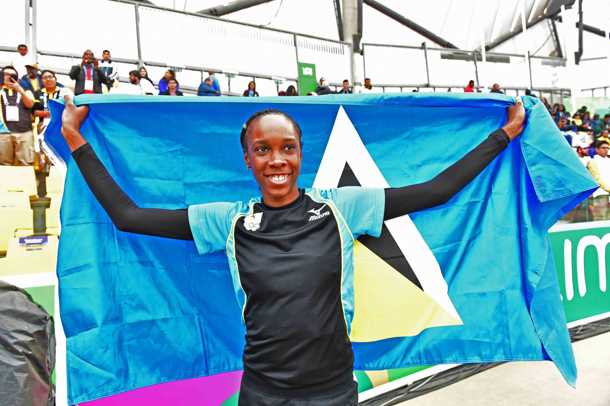 Saint Lucia Olympic Committee reward Lima 2019 medallists