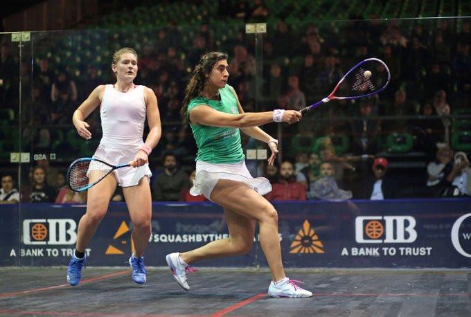 El Sherbini books quarter-final place at PSA Women's World Championship