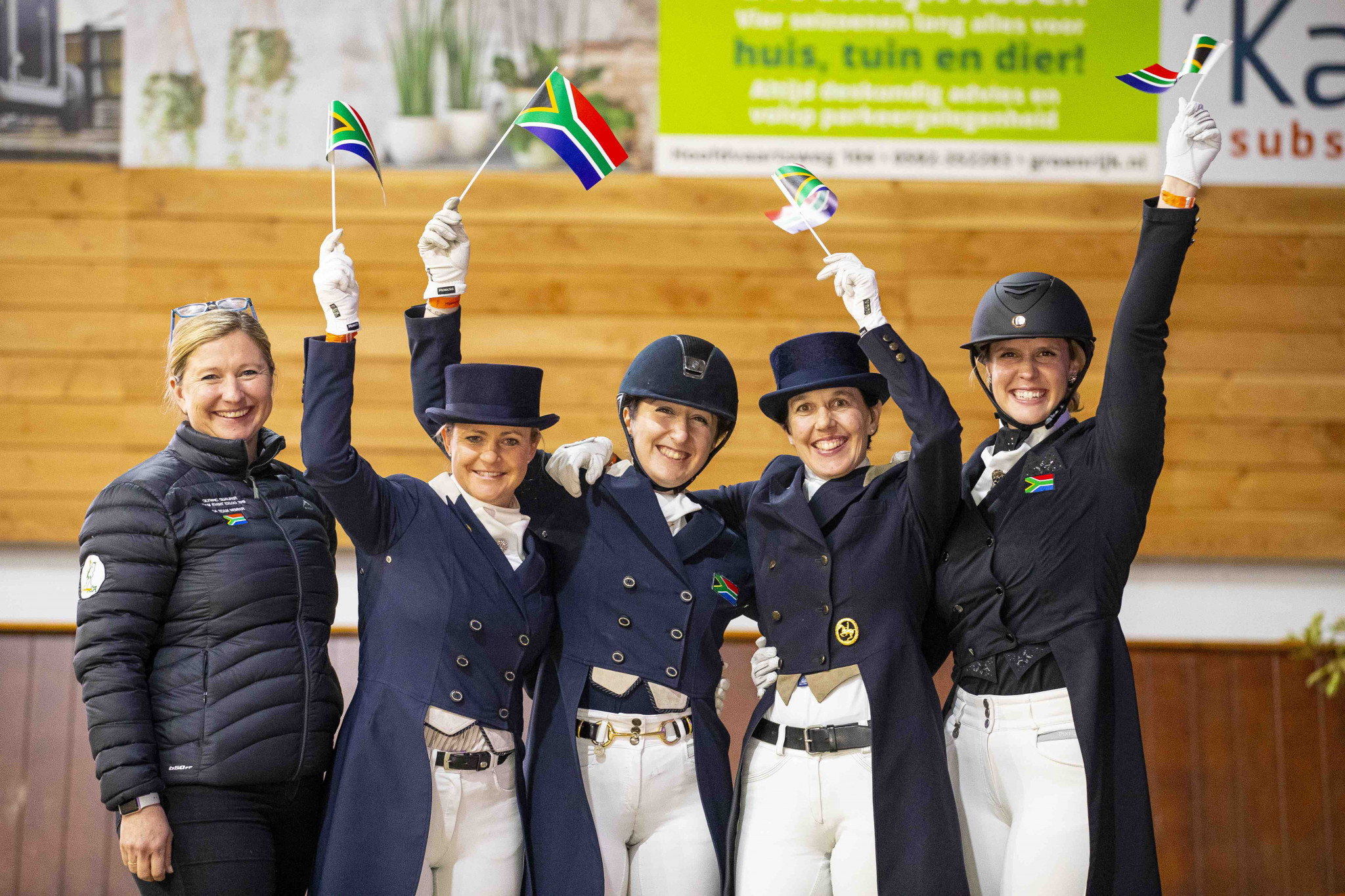 South Africa seal last dressage spot at Tokyo 2020