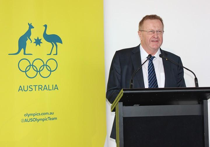 AOC President John Coates says they are very appreciative of the partnership with News Corp Australia