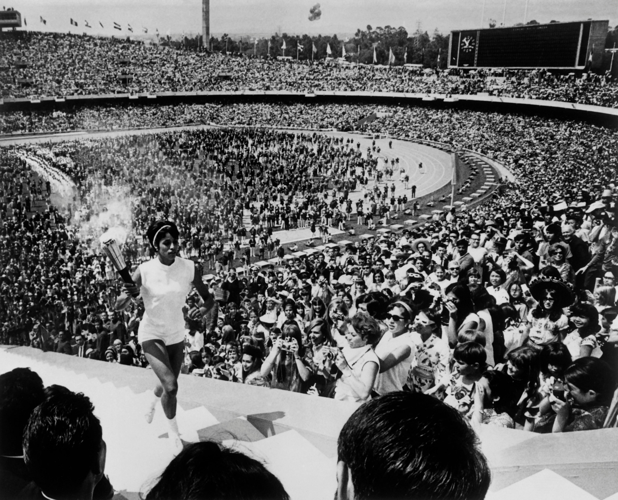 Historic Mexico 1968 Olympic Games Torch-lighter dies