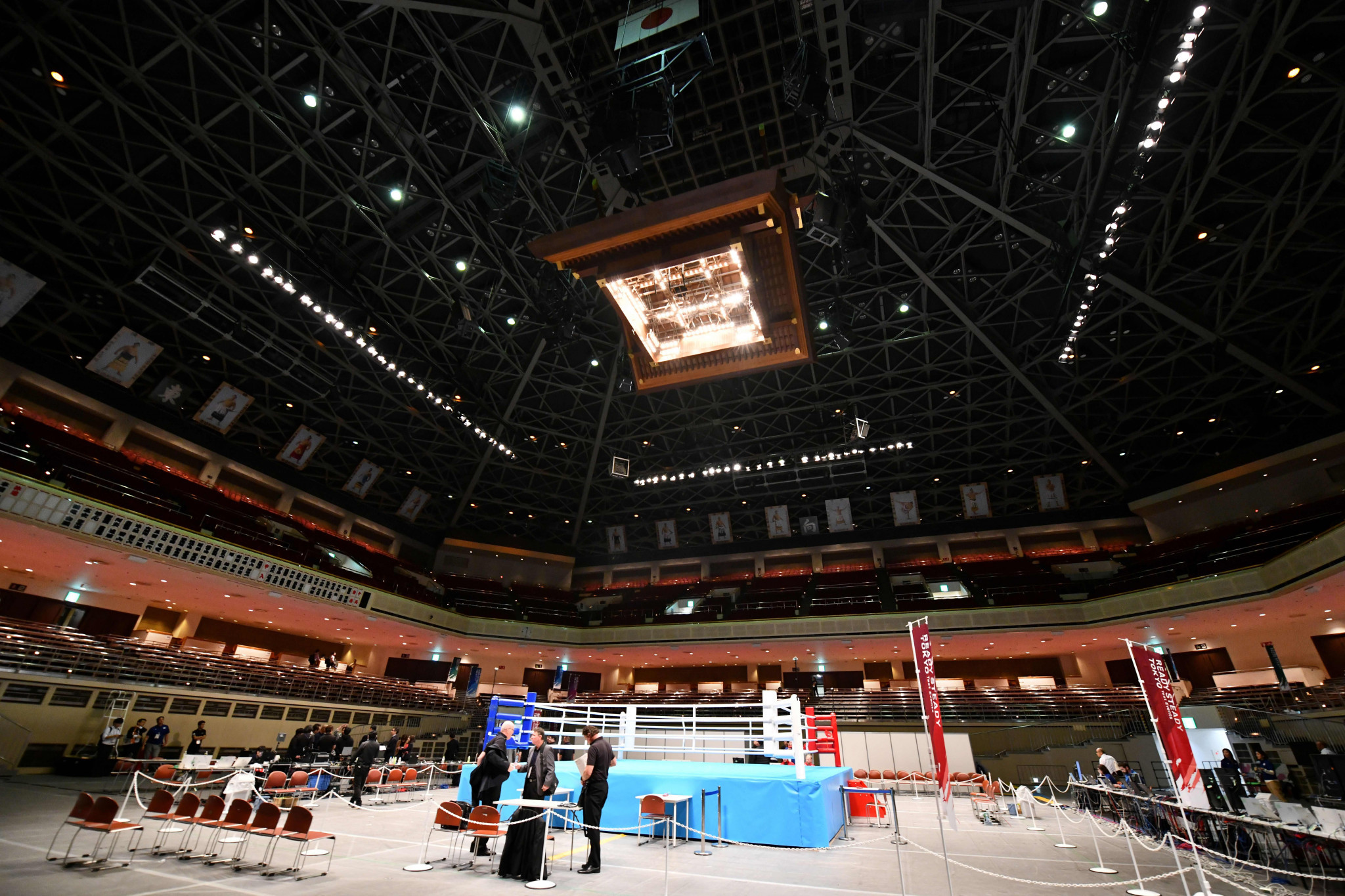 The Ryōgoku Kokugikan sumo venue will be used for boxing at Tokyo 2020 ©Getty Images