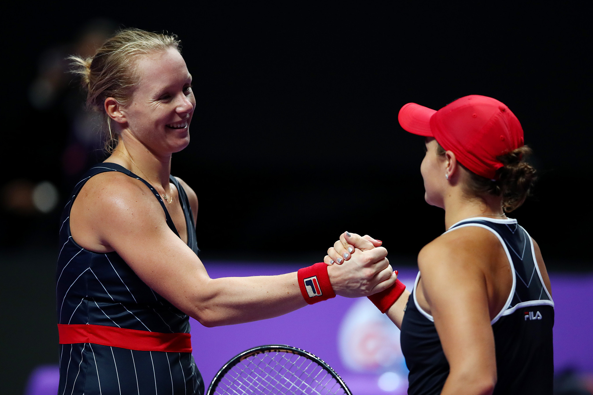 Injury replacement Bertens stuns Barty at WTA Finals