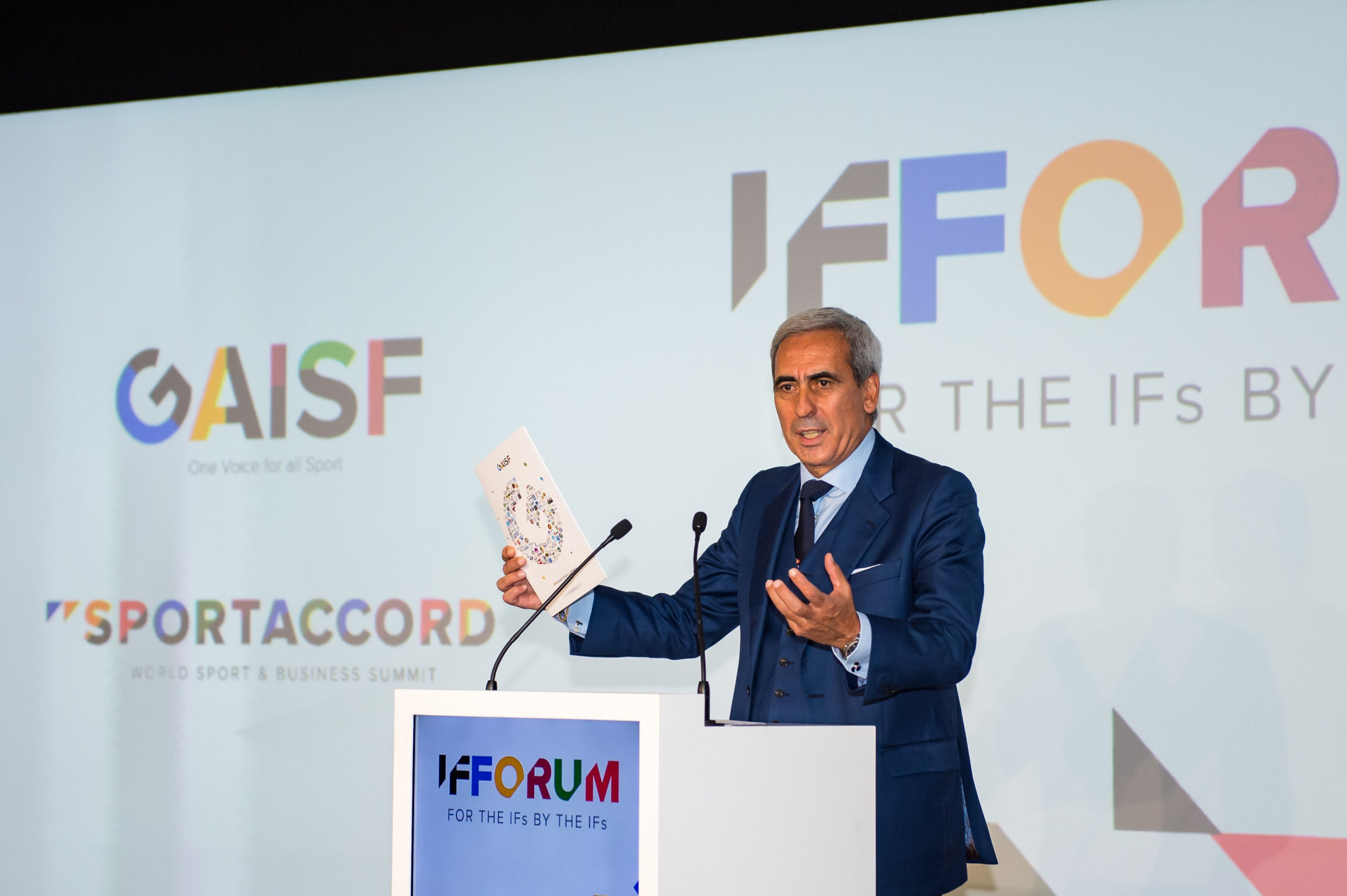 GAISF President Raffaele Chiulli launches busy day at IF Forum