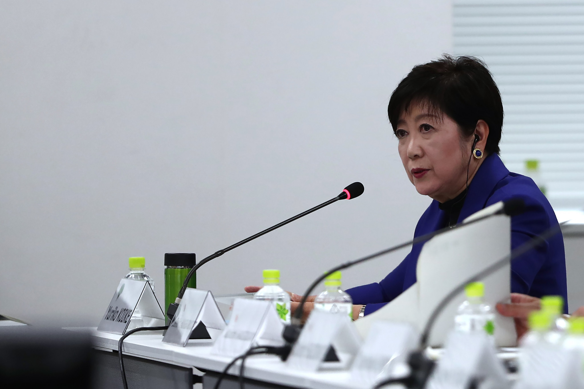 "Tokyo Governor Yuriko Koike criticised the IOC's ""unprecedented"" decision to move the marathon and race walk events out of the Japanese capital to Sapporo ©Getty Images"