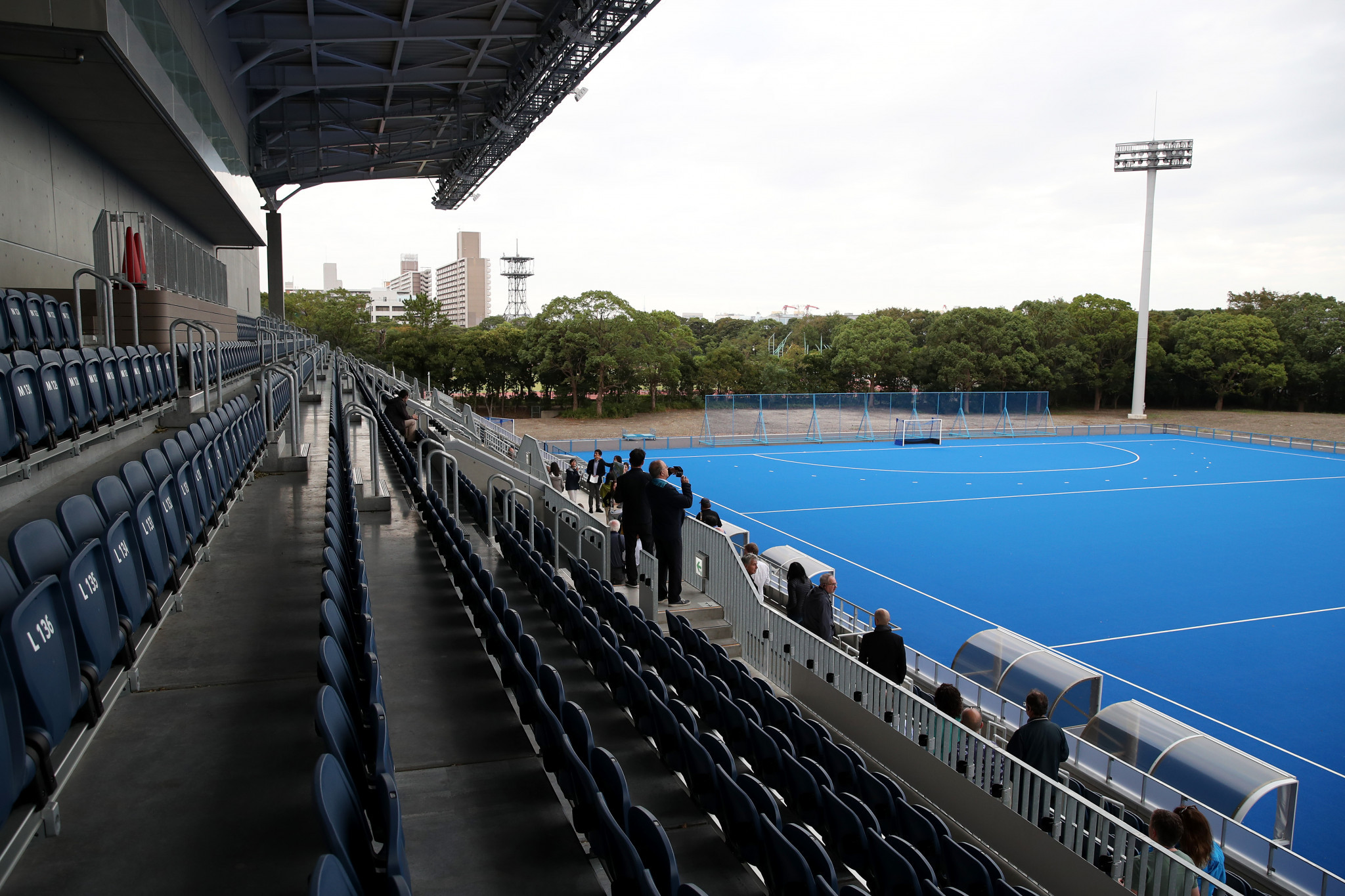 The Oi Hockey Stadium was visited by the IOC Coordination Commission ©Getty Images