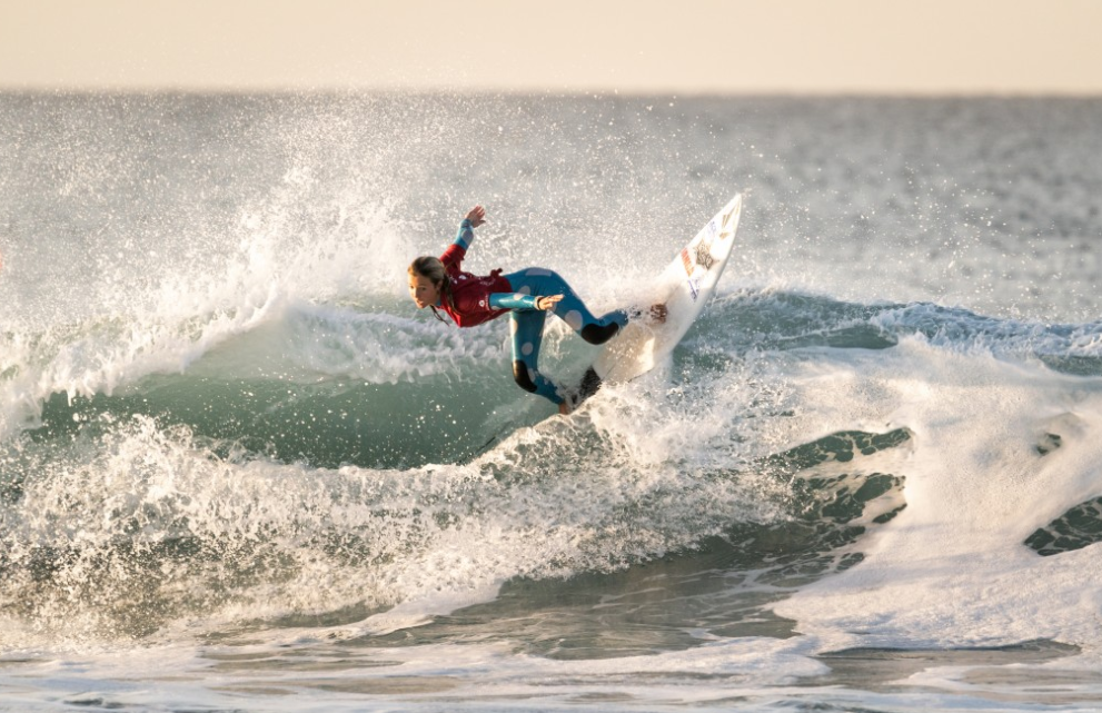 Candelaria Resano appears to be in unstoppable form ©ISA