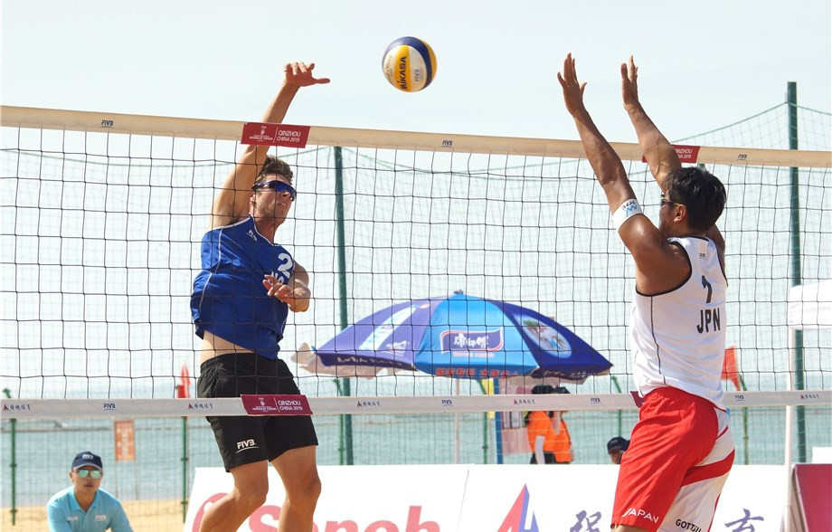 Heidrich and Gerson secure double victory at FIVB Beach World Tour in Qinzhou