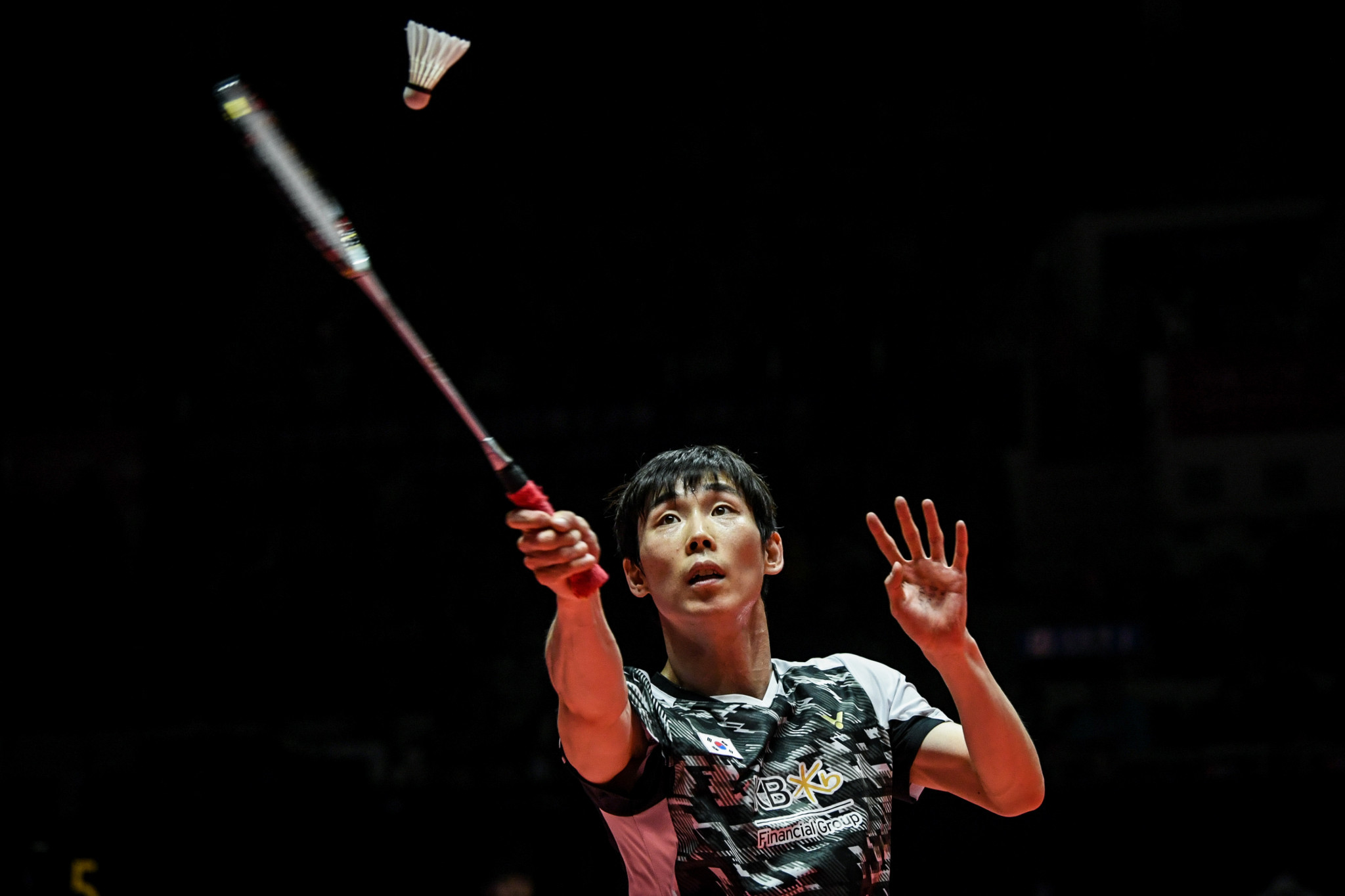 Second seed Son crashes out of men's singles at BWF Macau Open