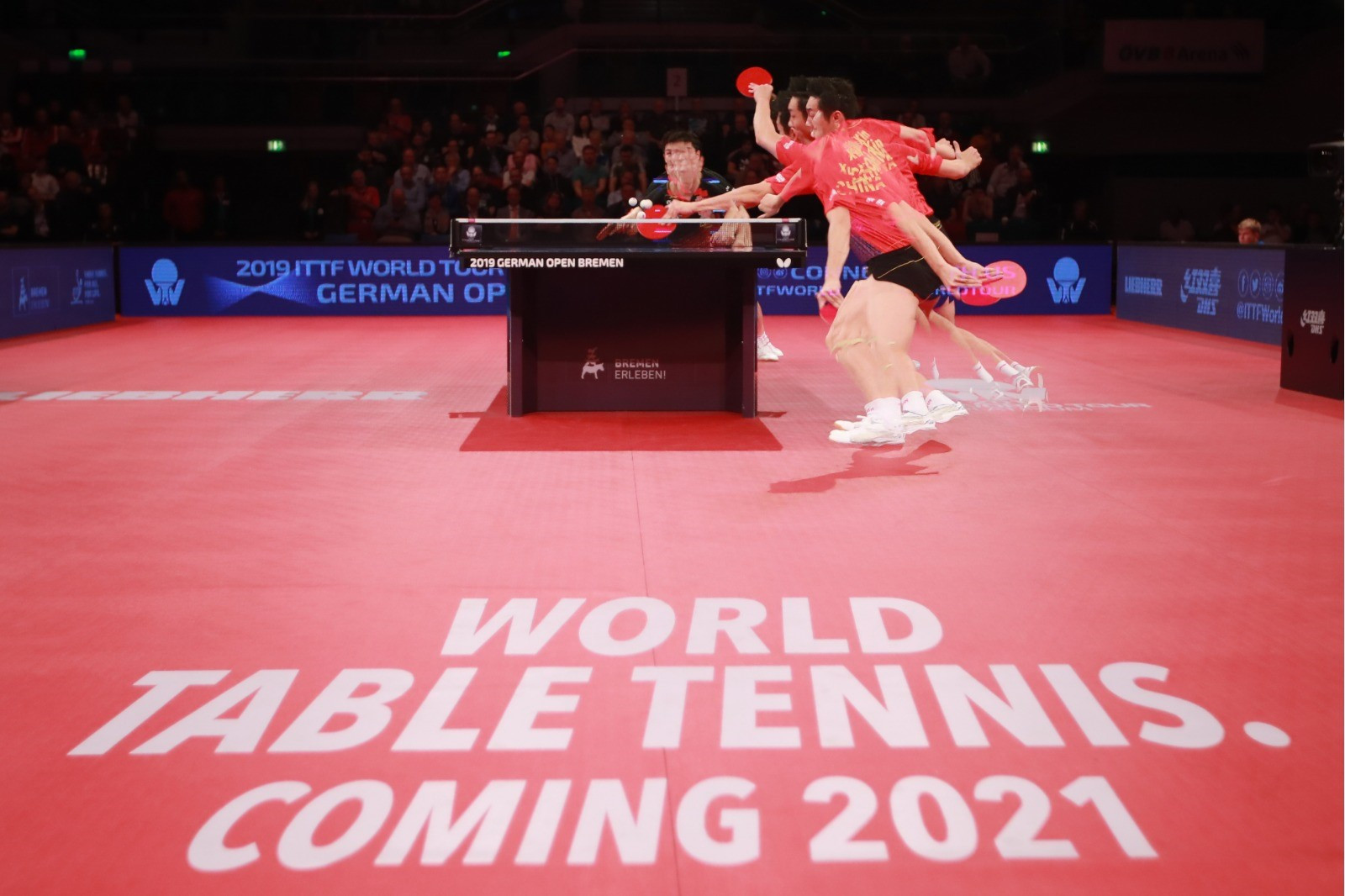 The International Table Tennis Federation approved plans to change its name to World Table Tennis during its Executive Committee meeting in Chengdu ©ITTF