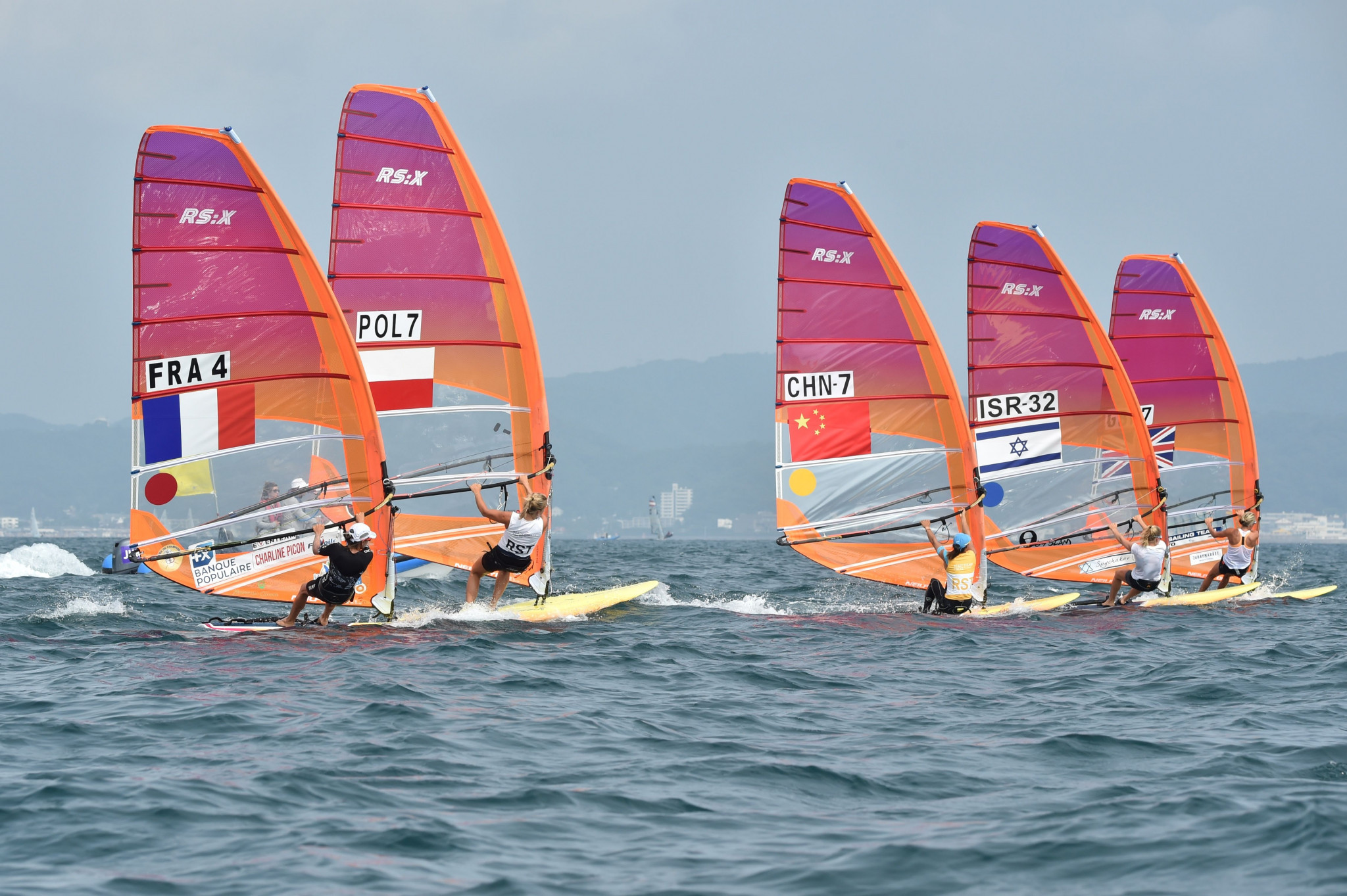 The RS:X is set to be dislodged as the equipment for Olympic windsurfing events ©Getty Images