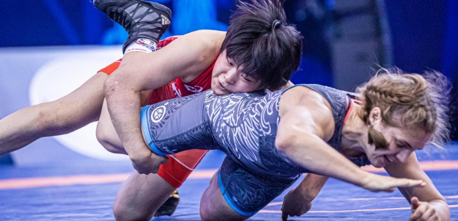 Japan win three gold medals in women's freestyle at UWW Under-23 World Championships