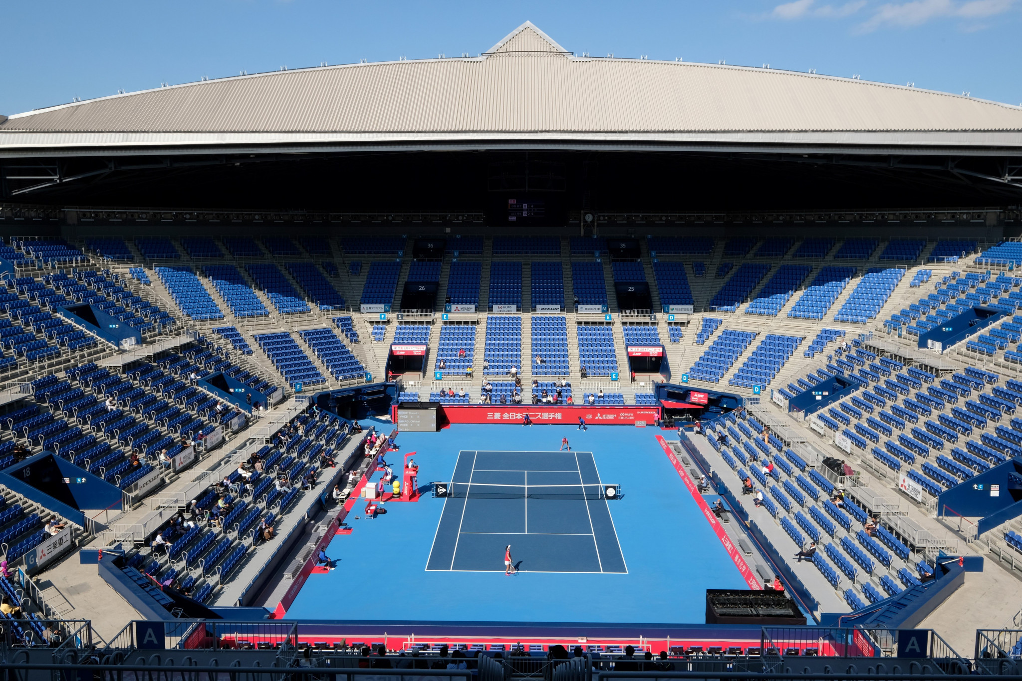 ITF impressed by Ariake Tennis Park after Tokyo 2020 test event