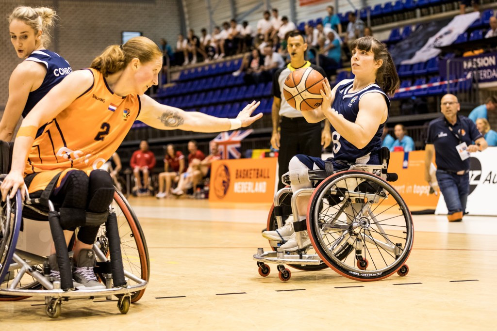 Britain claimed silver at the women's European Championships this year ©International Wheelchair Basketball Federation