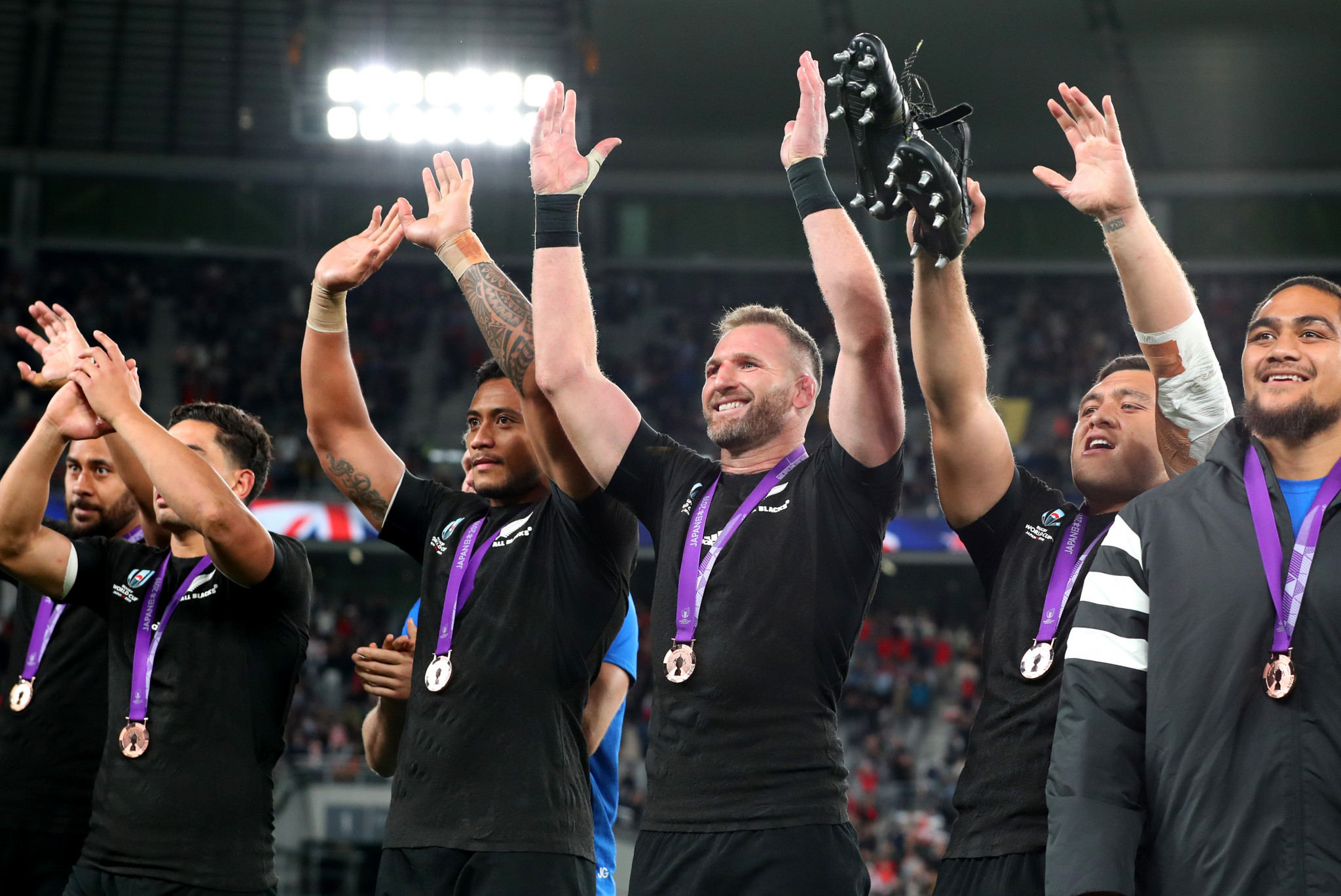 New Zealand took the bronze medal at the 2019 Rugby World Cup ©Getty Images