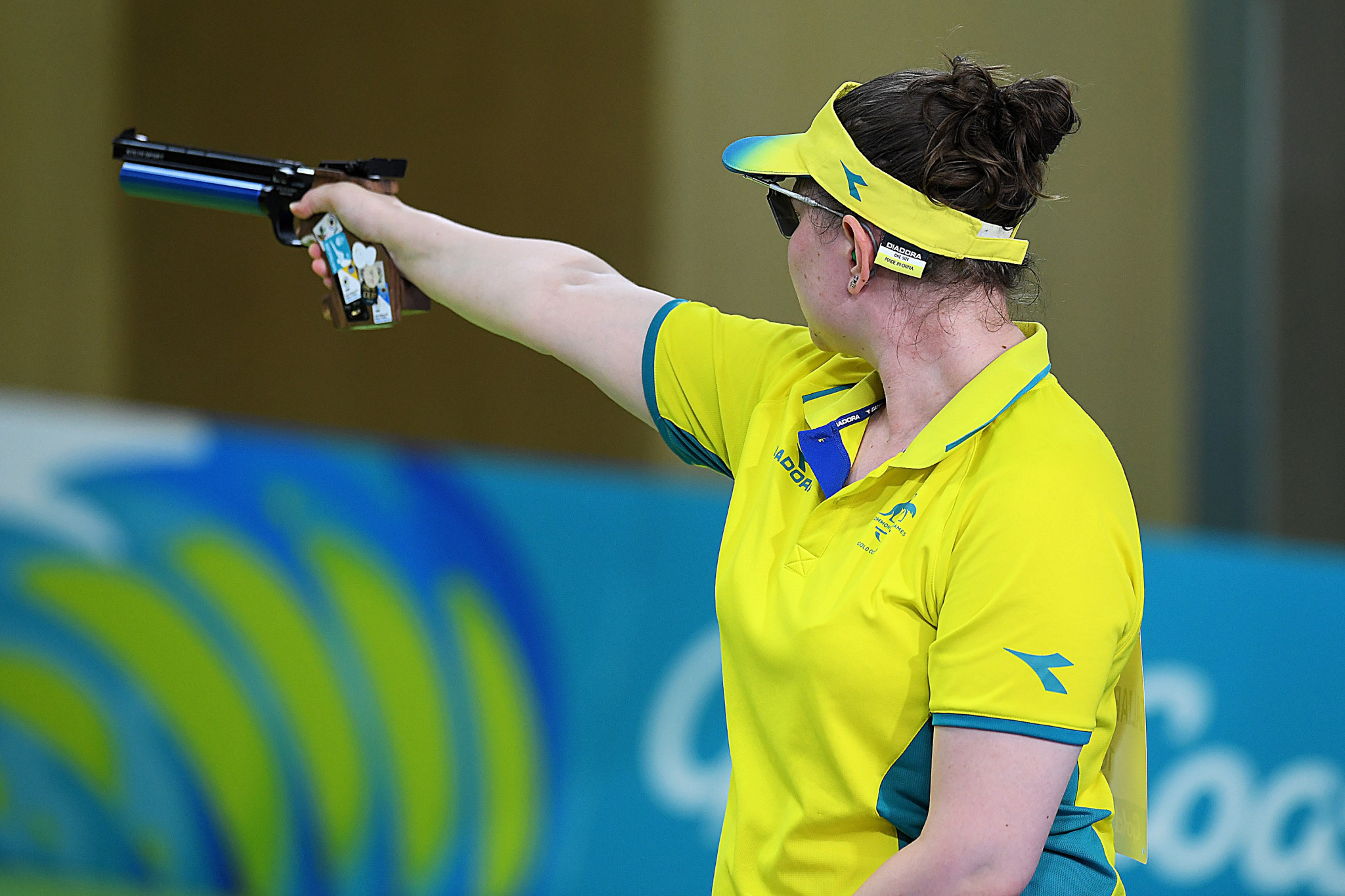 Elena Galiabovitch is among the Australian athletes looking to secure Tokyo 2020 quota positions at the Oceania Shooting Championship in Sydney ©Getty Images