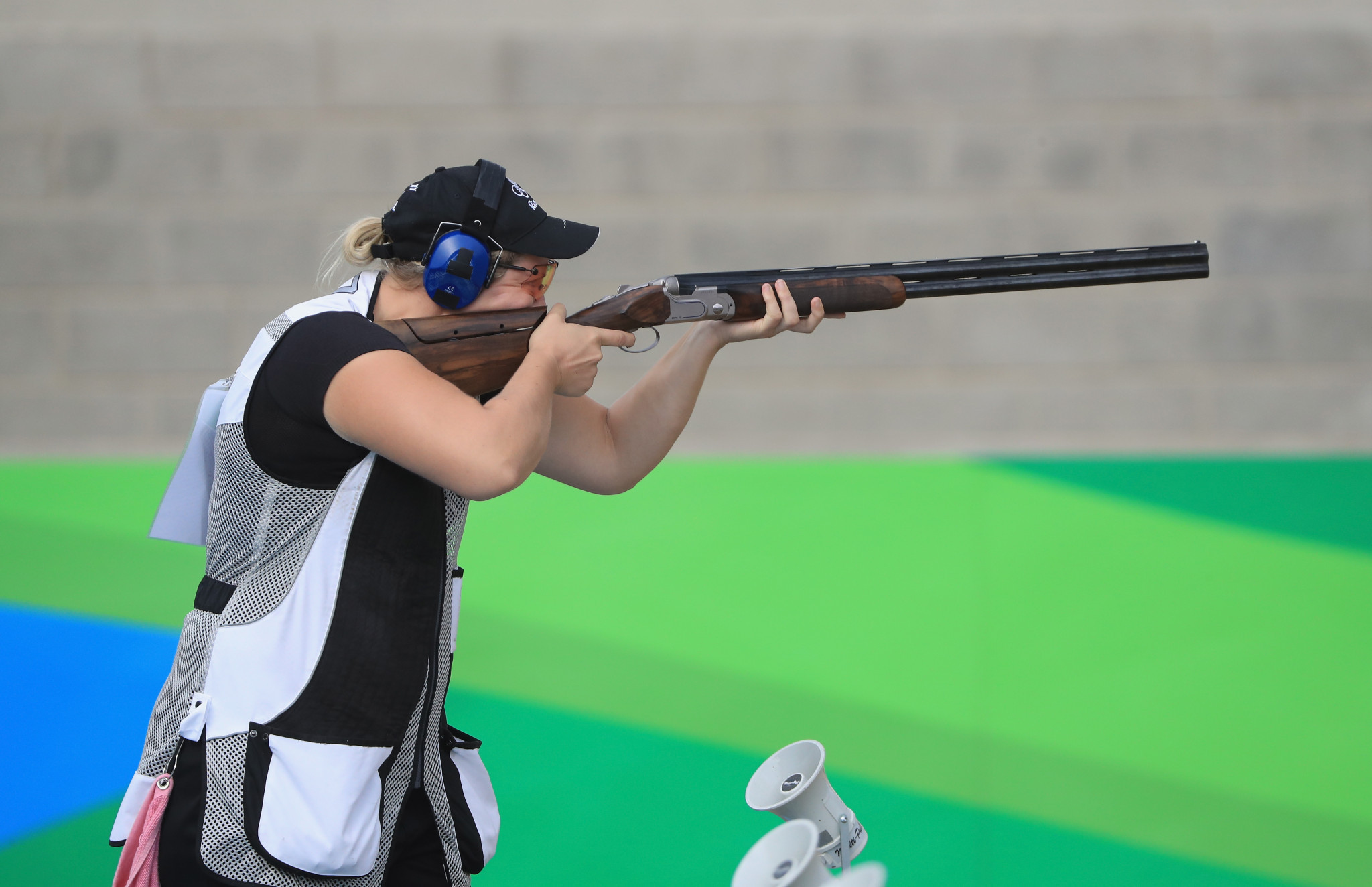 Rio 2016 Olympic silver medallist Natalie Rooney will be representing New Zealand in the women's trap ©Getty Images